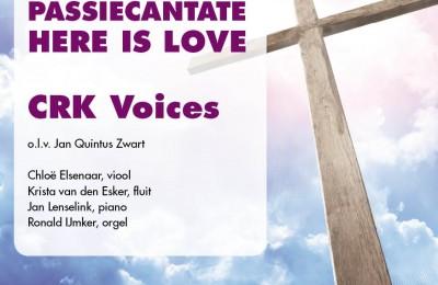 Posters, flyers en programmaboekje CRK Voices