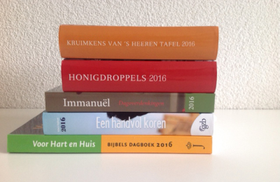 Diverse dagboekjes 2016