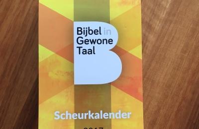 Bijbel in Gewone Taal scheurkalender 2017